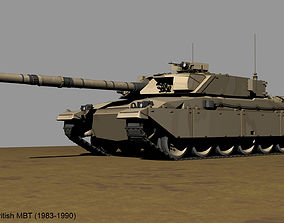 Challenger-1 British MBT 3D