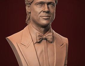 sculpture Brad Pitt 3D print model
