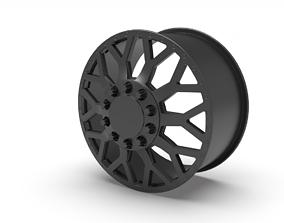 American Force Dually EVO wheel 3D printable model