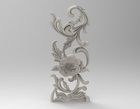3D printable model floral 3