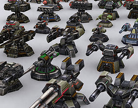 3D model Wargear Turrets