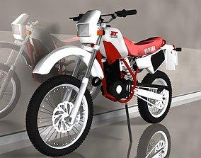 motocross YAMAHA XT 3D model