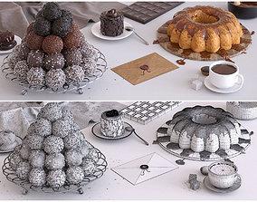 milk Sweets 3D model