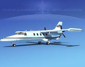 Dreamscape AF-44 Star Executive V09 3D model