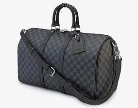keepall 3D model Louis Vuitton Bag 03