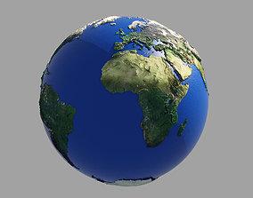 Earth Globe HD 3D