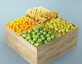 3D Store Fruits Stand 03
