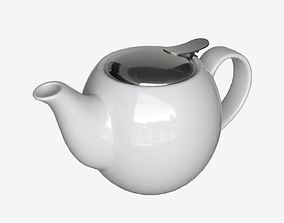 PBR Porcelain Teapot 001 3D asset