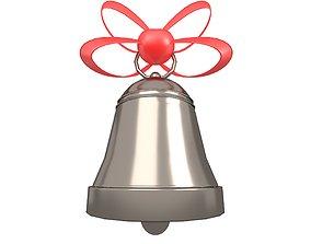 Christmas Bell v1 008 3D model