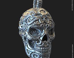 3D print model Biker Skull vol12 pendant