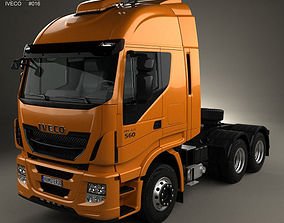 Iveco Stralis Tractor Truck 2012 3D