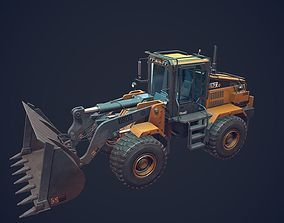 Handler Low Poly 3D asset