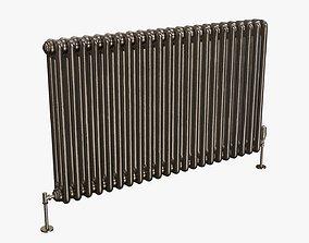 3D model Column bare radiator horizontal 01