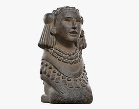 Chalchiuhtlicue Goddess of Water 3D asset