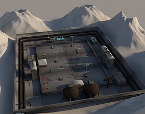Racecourse 3D asset