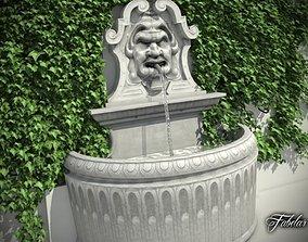 Fountain 3D model hosefaucet