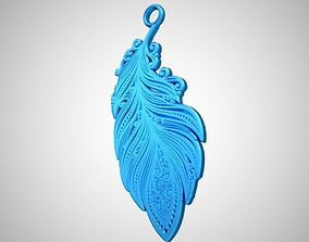 Feather Necklace 3D print model