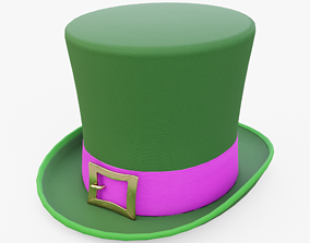 Leprechaun Hat 3D asset game-ready