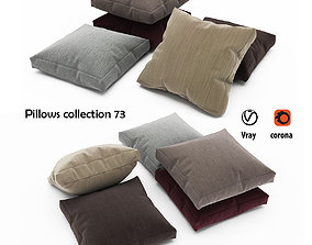 Pillows collection 73 3D model