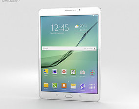 3D Samsung Galaxy Tab S2 8-0-inch LTE White