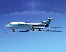 3D model Boeing 727-200 El Al