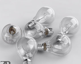 incandescent 3D Incandescent Bulb