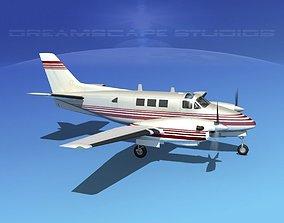 Beechcraft King Air C90 V03 3D model