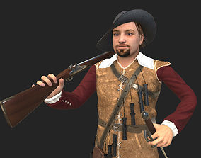 musketeer game model animated