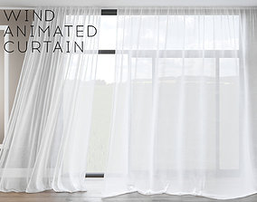 3D Wind Animated Curtain