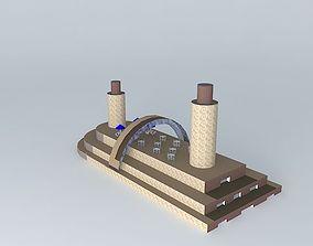3D model U Turn