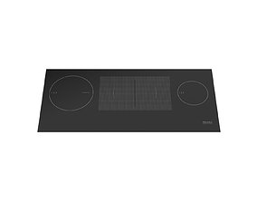 Electric induction hob MIELE KM 6699-1 916 mm 3D model