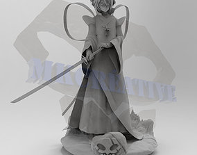 3D printable model Rukia Bankai