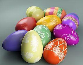 Easter eggs 01 church 3D model