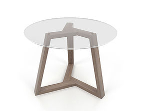 3D Dining table Triangle