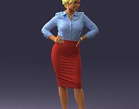 3D Beautiful woman 0822
