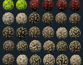 30 Skulls Seamless PBR Texture Pack 3D model
