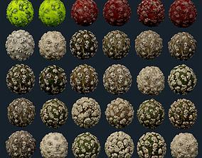 30 Skulls Seamless PBR Texture Pack 3D