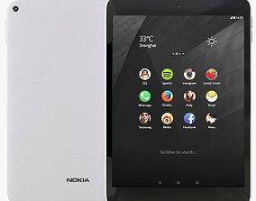 3D model Nokia N1 Natural Aluminum