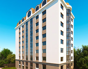 3D model Living and Office building