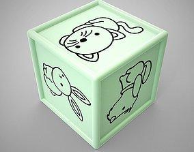Animal Dice 3D print model