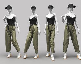 Woman Mannequin 9 3D