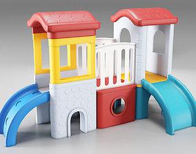 Childrens Castle Slides 3D