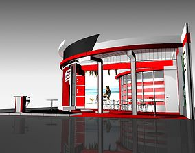 Expo Stand CTI1 3D model