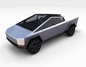 pickup 3D Tesla Cybertruck