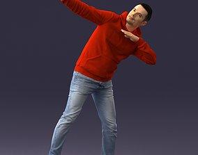 3D printable model Red hoodie 0520