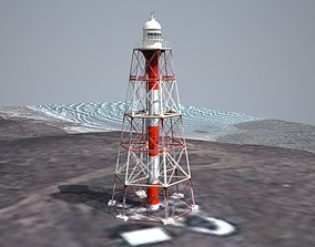 3D Point Charles Lighthouse Low Poly