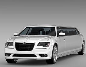 3D Lancia Thema Limousine