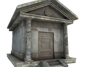 3D asset Mausoleum PBR