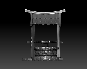 Old well High-poly 3D model