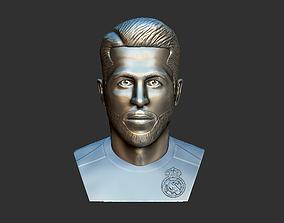 Sergio Ramos 3D Model - Football Player
